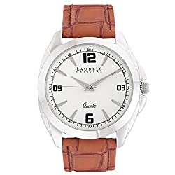 Laurels Diplomat Analog White Dial Mens Watch ( Lo-Dip-301)