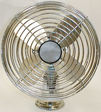 Power-Products-DF12V-12V-DC-All-Metal-Two-Speed-Chrome-Dash-Fan-with-6-Blade