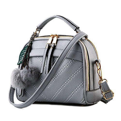 womens-portable-crossbody-handbag-with-leather-chain-strap-grey