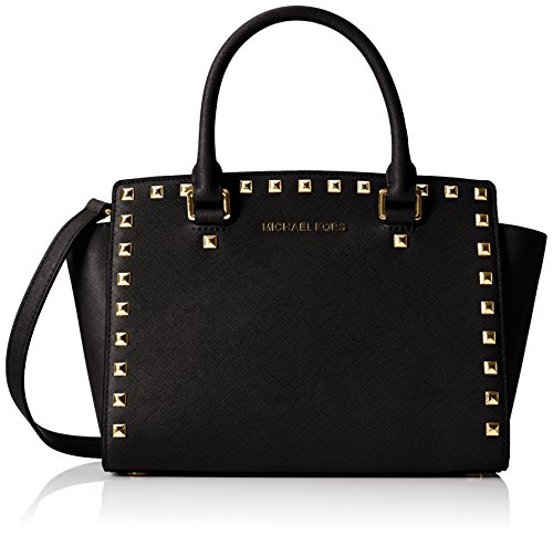 michael-michael-kors-womens-selma-stud-medium-top-zip-satchel-black-one-size