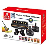Atari Flashback 8 Deluxe with 105 games - 2 Wired controllers and 2 Paddles (Color: red)