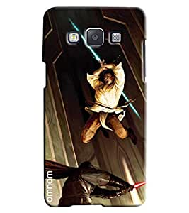Omnam Marshal Arts Fighting Printed Designer Back Cover Case For Samsung Galaxy A7