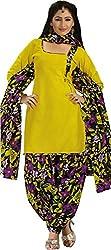 Raj Women Cotton Dress Material (Rajnandini1010 _Multi-Coloured)