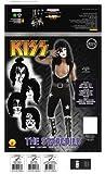 Kiss Deluxe The Starchild Costume, Black, Medium