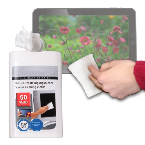Duragadget Anti-Static Lcd Touchscreen Cleaning Cloths For Micromax Dual-Boot Android/Windows 8.1 Tablet, Woxter Dx 70 & Bq Edison 2