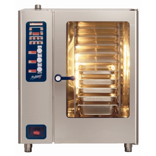 Eloma Multimax 10 Grid Natural Gas Combi Oven With Handshower MBG1011 Power: 20kW