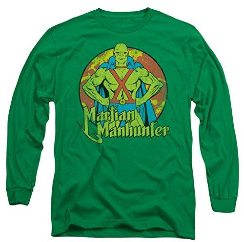 Martian Manhunter Long Sleeve T-Shirt
