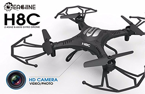 Eachine H8C Quadcopter With 2.0MP HD Camera 2.4G 6-Axis Headless Mode