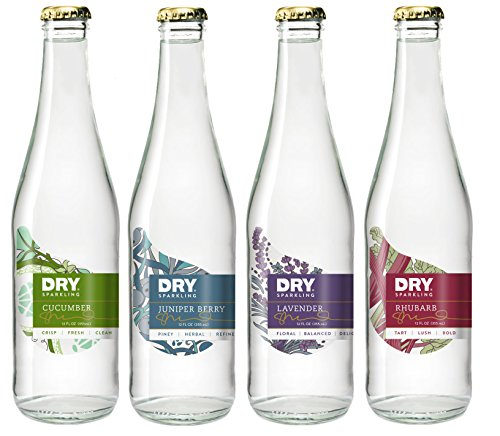 DRY Sparkling Bottle, Mixed Bottle Pack, 12 Count (Dry Blood Orange Soda compare prices)