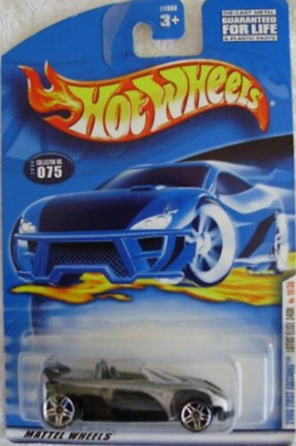Hot Wheels 2000 First Editions Lotus Elise 340R Silver 1:64 Scale Collectible Die Cast Car #15 - 1