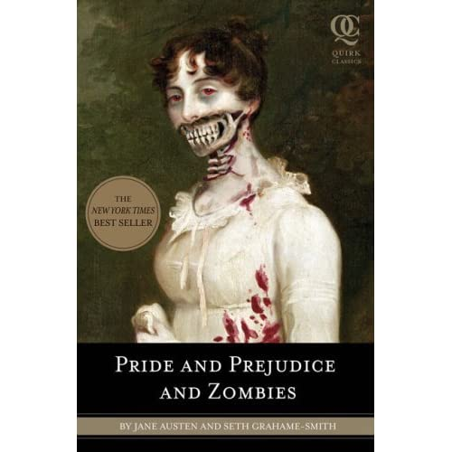 In this image, the main character appears as a zombie on the cover of the book