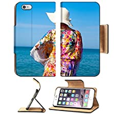 buy Msd Premium Apple Iphone 6 Plus Iphone 6S Plus Flip Pu Leather Wallet Case Beautiful Girl Relaxing Outdoor At Summer Beach Image Id 23546677