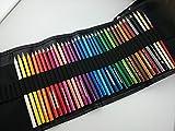 ファーバーカステル Faber-Castell 水彩色鉛筆36色セット TFC-WCP/36C+48本ロールペンケース ブラック