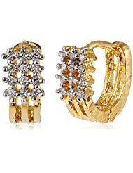 Ava Stud Earrings For Women (Golden) (E-B-008)