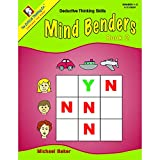 THE CRITICAL THINKING CO. MIND BENDERS BEGINNING BOOK 2 (Set of 3)