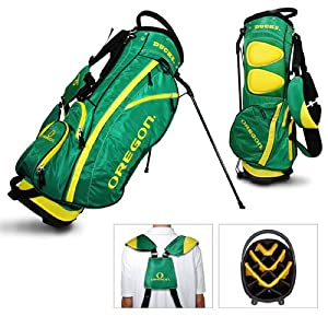Oregon Ducks Ncaa Stand Bag - 14 Way (Fairway) by Team Golf