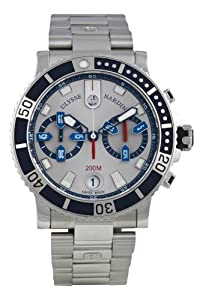 Ulysse Nardin Men's 8003-102-7/91 Maxi Marine Watch