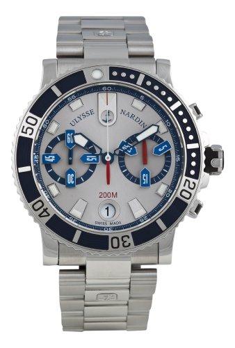Ulysse Nardin Men's 8003-102-7/91 Maxi Marine Watch