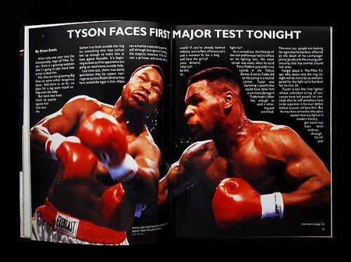 マイク・タイソン vs スピンクス 海外輸入 ボクシング パンフ