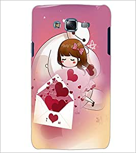 PrintDhaba Love D-2520 Back Case Cover for SAMSUNG GALAXY J5 (Multi-Coloured)