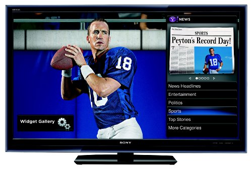 Sony KDL-40W5100 is one of the Best 42-Inch or Smaller HDTVs Under $1200 for Watching Sports or Playing Video Games from Wide Viewing Angles