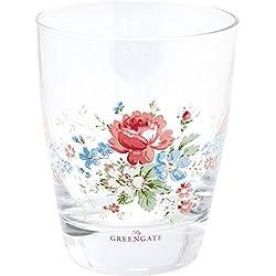 GreenGate Glas - Glass - Marie White H 9,5 cm