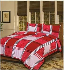 Double Bed Duvet / Quilt Cover Bedding Set Hamilton Tartan