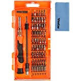 Vastar® 58 in 1 with 54 Bit Magnetic Driver Kit, Precision Screwdriver Set Cell Phone, Tablet, PC, Macbook, Electronics Repair Tool Kit, with Clean Cloth