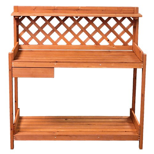 Best choice products potting bench outdoor garden work bench station new ebay Outdoor potting bench
