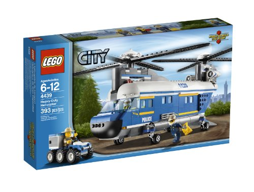 51jo3LNlisL LEGO City Police Heavy Lift Helicopter 4439