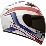 Bell Cam Adult Qualifier Sports Bike Motorcycle Helmet - Blue - Medium