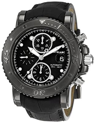 Montblanc Sport Mens Black Dial Watch 104279 by Montblanc