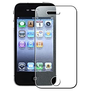 Generic 3-Pack of iPhone 4/4s Diamond Finishing Screen Protector - Non-Retail Packaging - Clear
