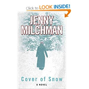 Cover of Snow (Wheeler Large Print Book Series) Jenny Milchman