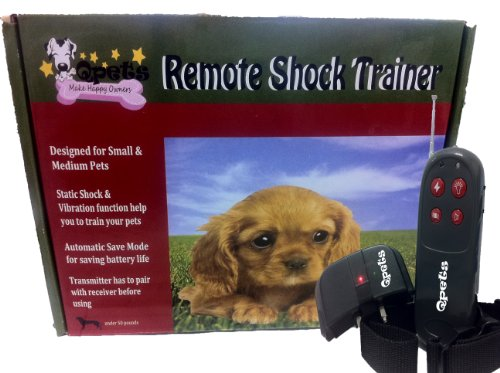 Qpets 4 In 1 Shock And Vibration Training Collar For Small/Medium Dog(Under 50Lb) Sp 207