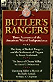 img - for Butler's Rangers: Three Accounts of the American War of Independence book / textbook / text book
