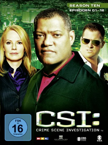CSI: Crime Scene Investigation - Season 10.1 [3 DVDs]