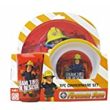 Zak FIREMAN SAM 3-pc Dinnerware Set