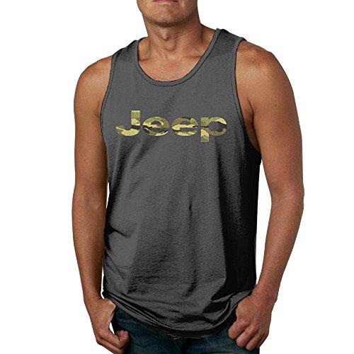 Camouflage Jeep Breathable Sleeveless Shirt