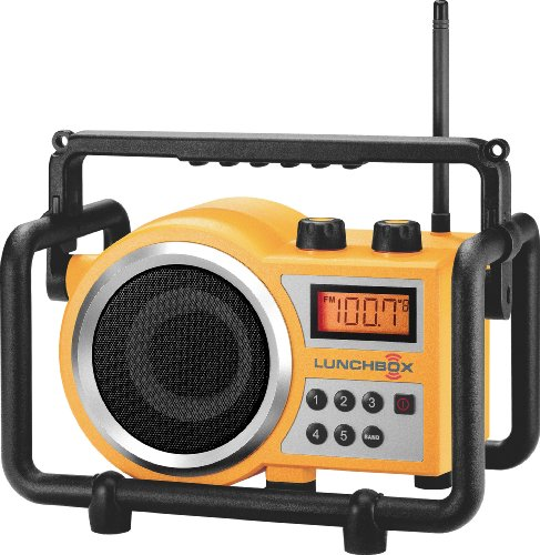 Sangean Lb-100 Compact Am/Fm Ultra Rugged Radio Receiver front-167913