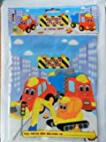 BUMPER TRUCKS CHILDREN'S PARTY BAGS X 10.