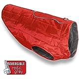 Kurgo Chilli Red Outdoor Coat Loft Dog Jacket, Medium