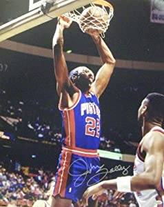 John Salley signed Detroit Pistons 16x20 Photo by Athlon Sports Collectibles