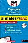 ANNALES BAC 2013 ESPAGNOL COR