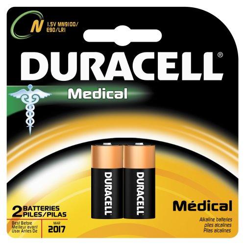 Duracell Mn9100B2Pk04 Alkaline-Manganese Dioxide Medical Battery, N Size, 1.5V (Case Of 6 Cards, 2 Unit Per Card)