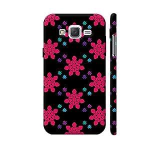 Colorpur Floral Geometric Vector Shapes Designer Mobile Phone Case Back Cover For Samsung Galaxy J5 | Artist: Designer Chennai