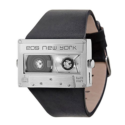 EOS New York 302SBLKSIL Mixtape Silver Orologio