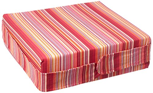 Pomfitis Sitata Baby Toddler Cushion High Chair Booster Seat, Pink Stripes