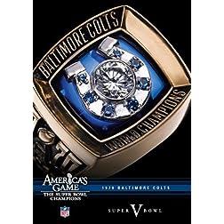 NFL America's Game: 1970 COLTS (Super Bowl V)