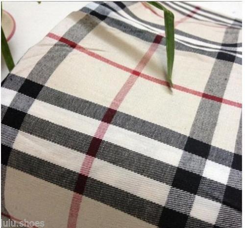 Tessuto a quadretti tipo tartan in cotone, per camicie, larghezza: 145 cm, marrone/nero/rosso, venduto al metro